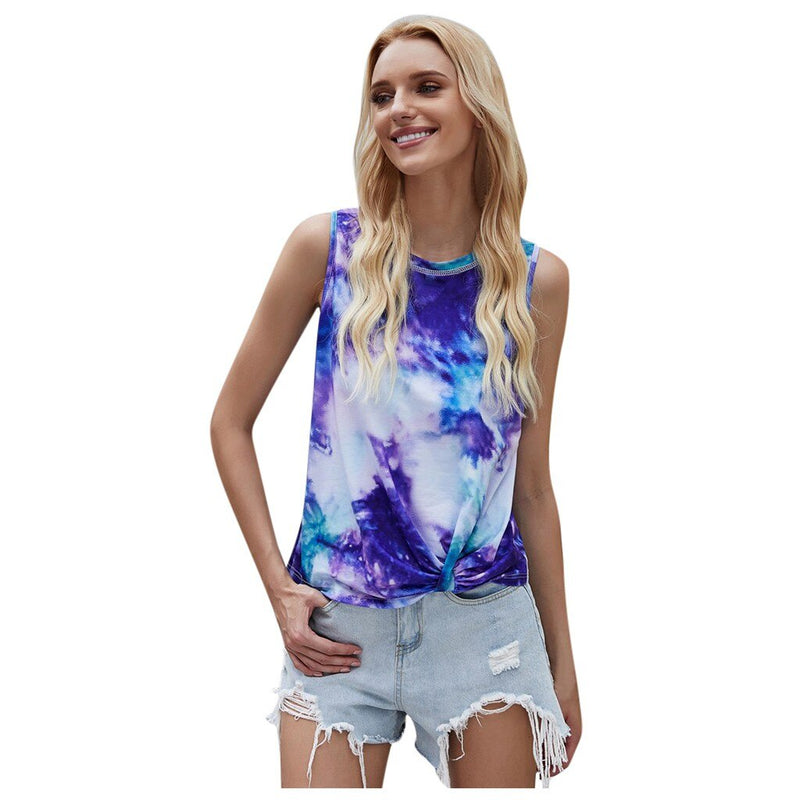 Necessary Tie-Dye Loose Camis Top