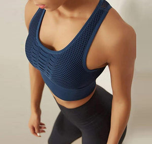 Racerback Running Crop Tops
