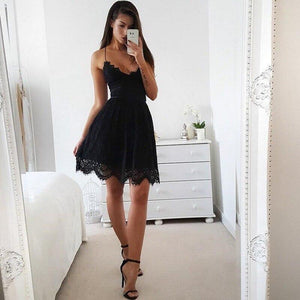 All Summer Long Laced Dress Dress Necessary Clothing Online Black S