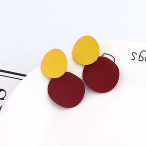 Bohemian Fashion Cute Geometric Dangling Earrings Drop Earrings Wihoo R Store ERRZ17