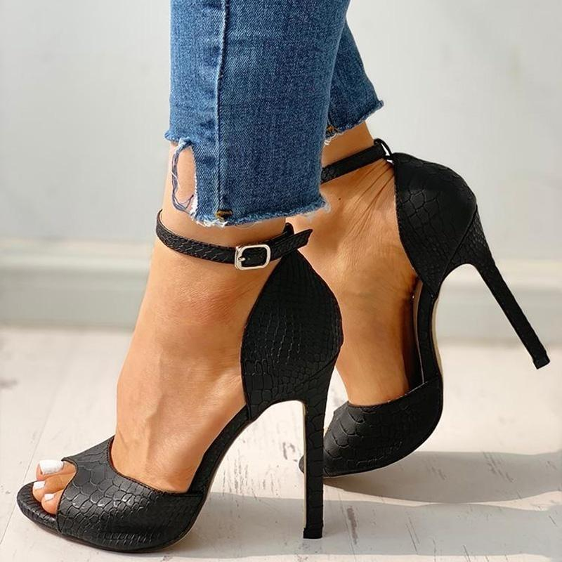 Exquisite High Heels Stiletto Sandals Shoes DAHOOD Store