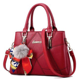 Fashion Elegant Designer Casual Handbags Handle Bags Best Product Best Show Wine Red 30cmX21cmX12cm