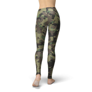 Ultra Soft Camouflage Leggings