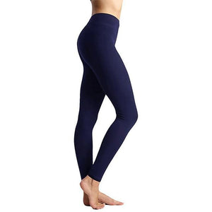 Meshed Down Leggings Leggings MUSTY Store navy 3 S