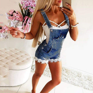 Necessary Denim Plus size Romper Rompers If Moment Store