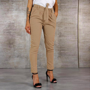Necessary High Waist Bandage Casual Pants Pants & Capris Fresh Zone