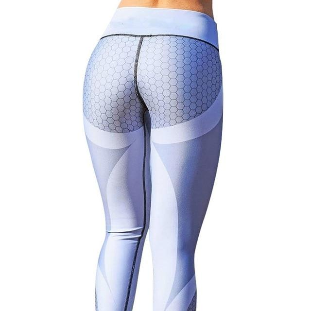 Necessary Print Slim Fitness Leggings Leggings Necessary Clothing Online 4 gray S