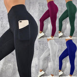 Necessary Push up High Waist Pocket Workout Leggings Leggings Wardrobe of Princess Store