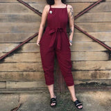 Necessary Summer Fashion Sleeveless Loose Jumpsuit Jumpsuits Adorn Neatnew Store