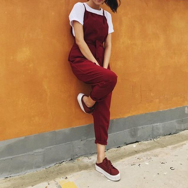 Necessary Summer Fashion Sleeveless Loose Jumpsuit Jumpsuits Adorn Neatnew Store RD S