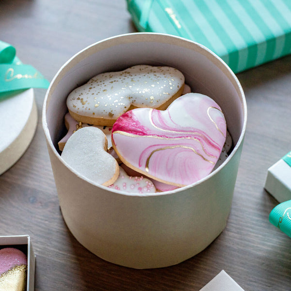 Valentine's Cookie Box