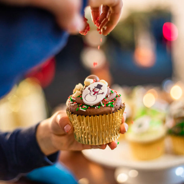 Christmas Cupcake Decorating Kit