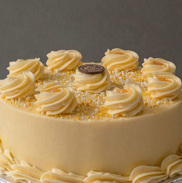 Lemon Poppy Sponge Cake