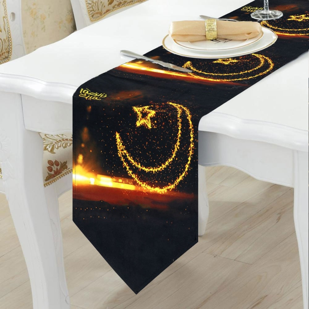 Eid Celebration Table Runner Decoration