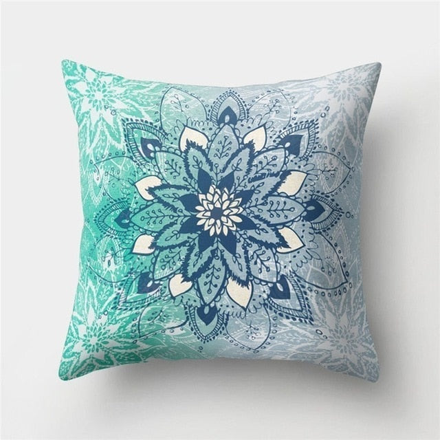 Islamic Geometric Patterns Decorative Pillow Cushion Cover for Home Living Room Sofa Decoration