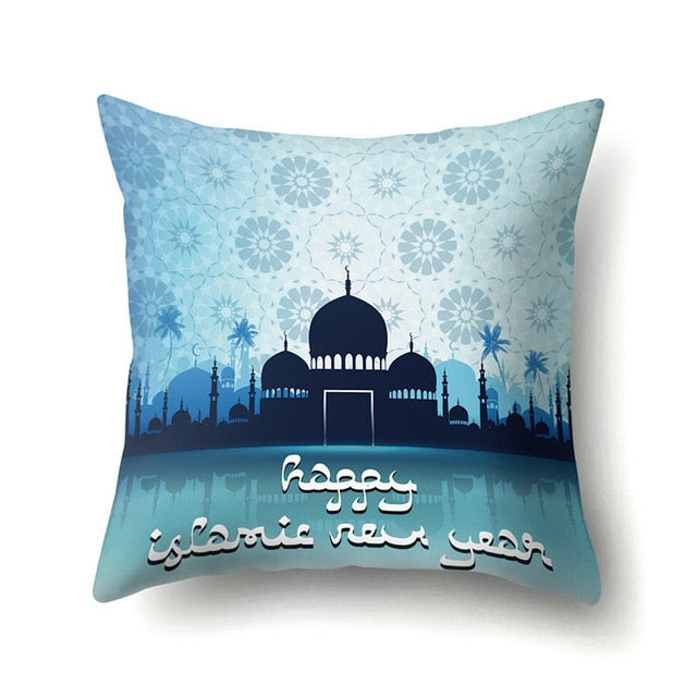 Ramadan Eid Decorations Cushion Cover Decorative Cushions Pillow For Sofa Living Room