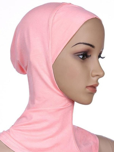 Soft Muslim Full Cover Inner Women Hijab Islamic Neck Head Cover