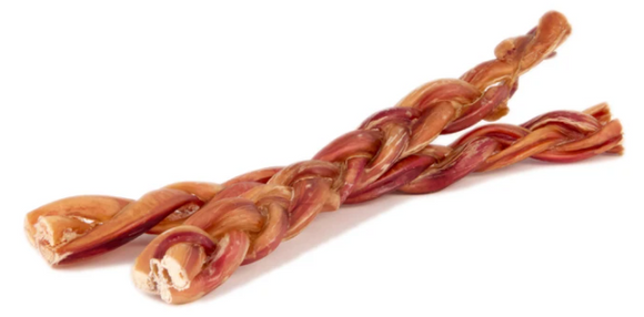 12 Inch Braided Bully Stick - Bully Bunches