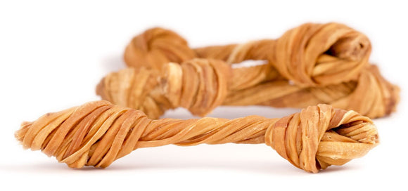 5-7 Inch Knotted Tripe Twist - Bully Bunches