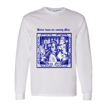 Load image into Gallery viewer, White Sad Girl Long Sleeve