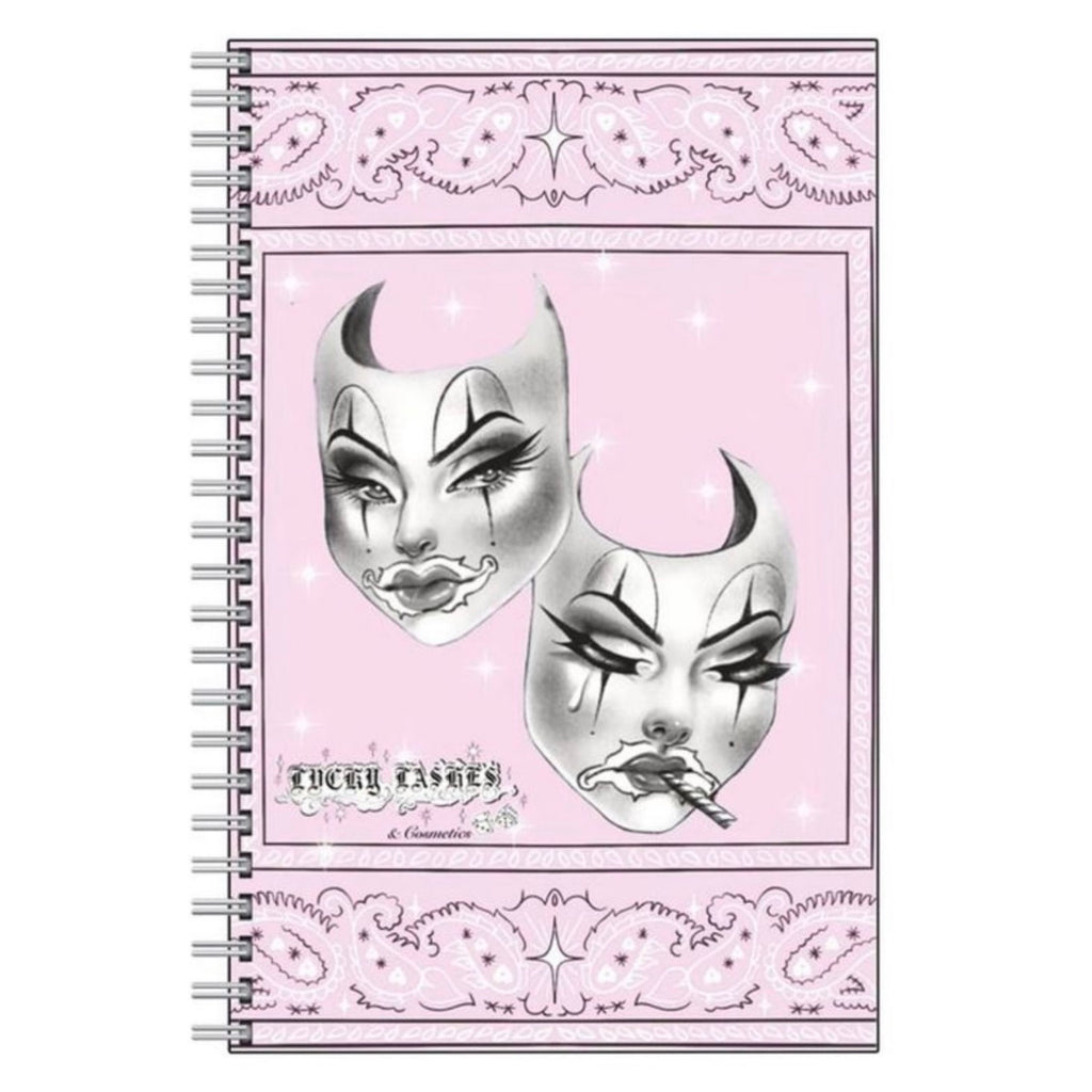 'Glam Now Smoke Later' notebook