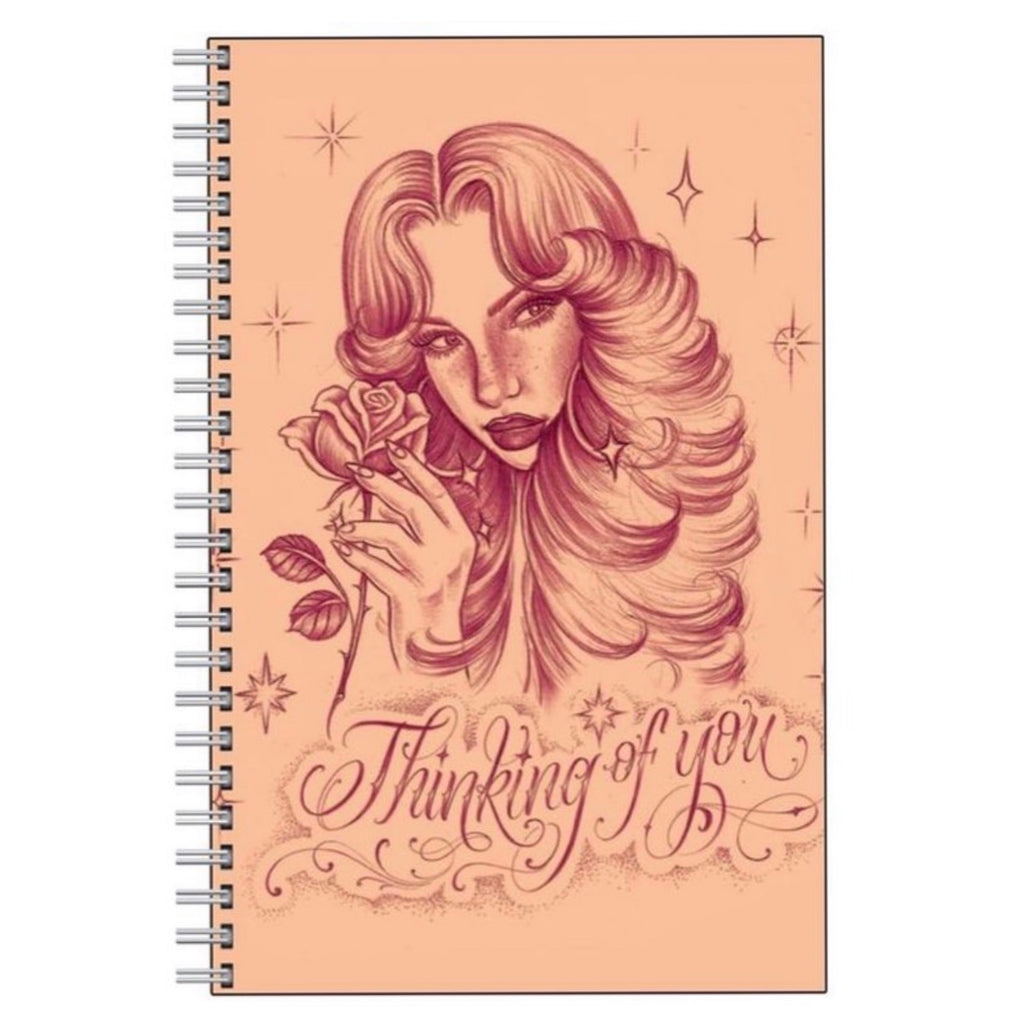 'Thinking of You' notebook
