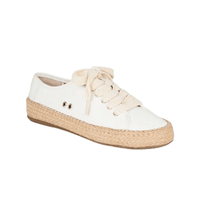 Women's Espadrille in Coconut | The Bower Tasmania