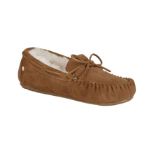 Load image into Gallery viewer, Moccasin Slipper in Chestnut | The Bower Tasmania