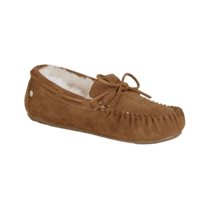 Moccasin Slipper in Chestnut | The Bower Tasmania