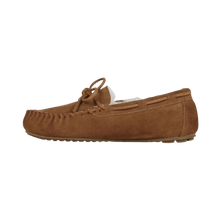 Load image into Gallery viewer, Moccasin Slipper in Chestnut outside view | The Bower Tasmania