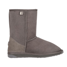 Load image into Gallery viewer, Calf Height Ugg Boot in Charcoal Side View | The Bower Tasmania
