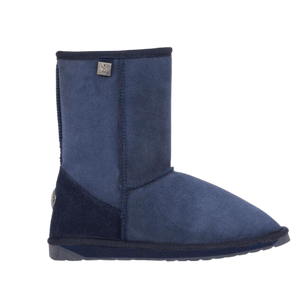 Calf Height Ugg Boot in Indigo side view | The Bower Tasmania