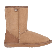 Load image into Gallery viewer, Calf Height Ugg Boot in Mushroom side view | The Bower Tasmania