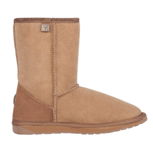 Calf Height Ugg Boot in Mushroom side view | The Bower Tasmania