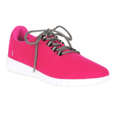 Women's Sneaker in Fuschia front view | The Bower Tasmania
