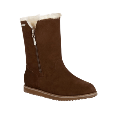 Waterproof Sheepskin Boot in Oak | The Bower Tasmania