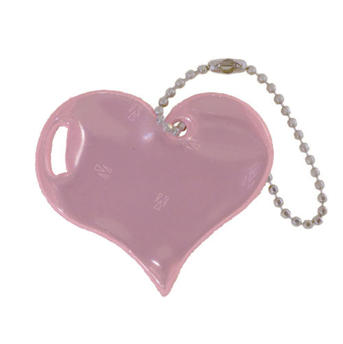 Light Pink Heart Reflector