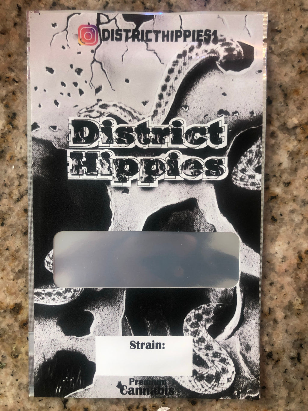 (DUMMIES) DISTRICT HIPPIES BAG