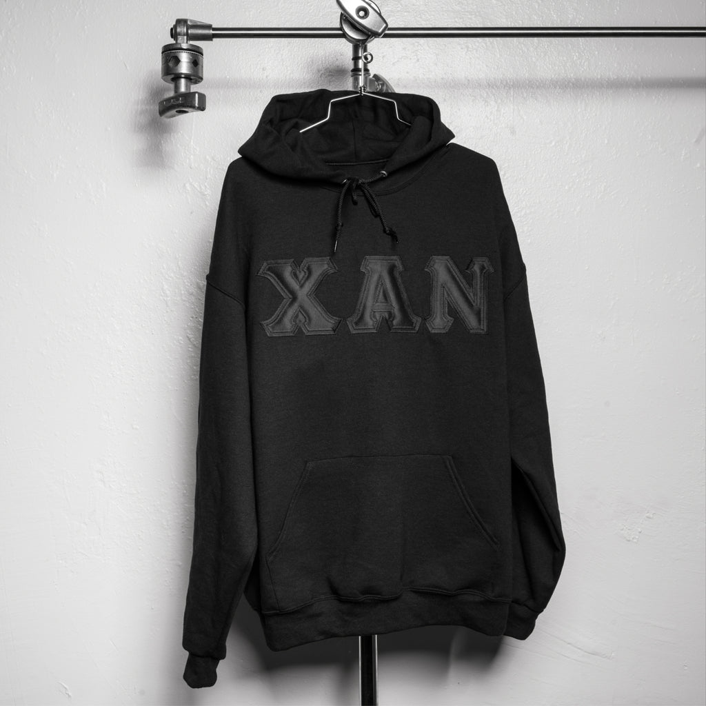 XAN HOODED SWEATSHIRT - BLACKED OUT