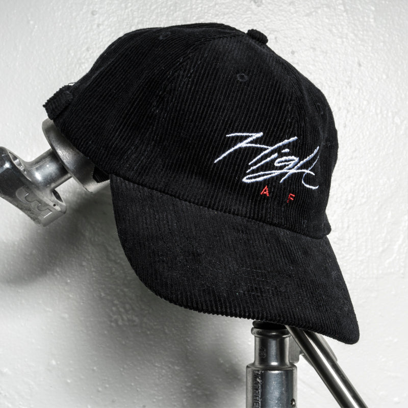 HIGH AF Dad Hat - BLACK CORD