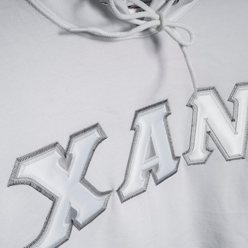 XAN HOODED SWEATSHIRT - WHITE