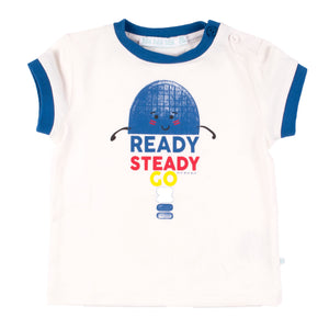 Bla Bla Bla T-shirt Ready Steady Go