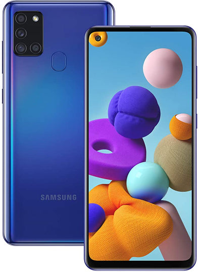 Samsung Galaxy A21s 32GB - Dual Sim - BLUE - Brand New