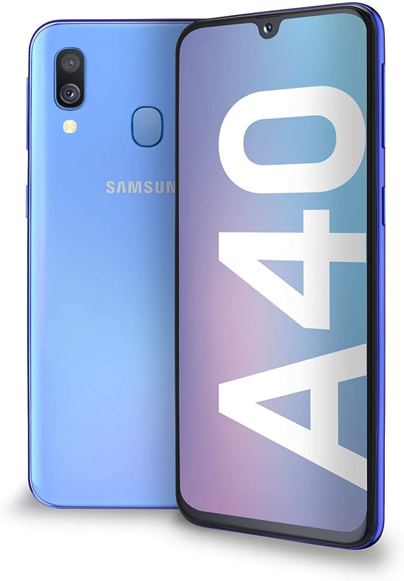 SAMSUNG A40 - 64GB - IMMACULATE CONDITION - BLUE