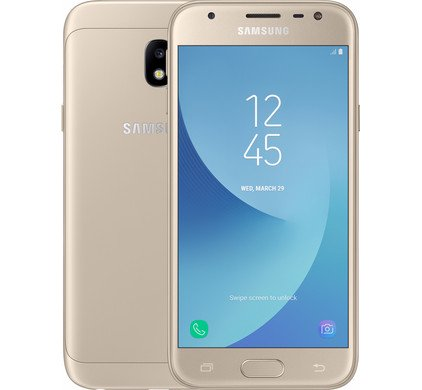 "Samsung Galaxy J3 (2017) 16GB - 4G - 5""- GOLD - IMMACULATE CONDITION"
