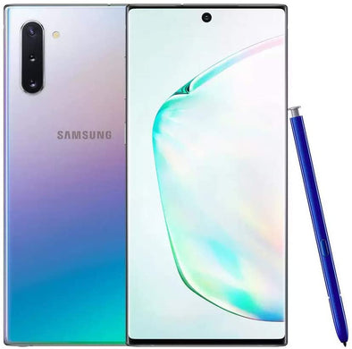 SAMSUNG GALAXY NOTE 10 SILVER 256GB DUAL SIM EXCELLENT CONDITION!!