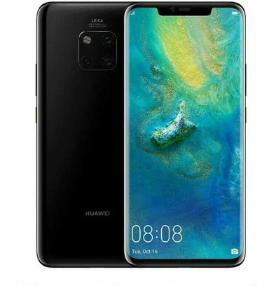 HUAWEI MATE 20 PRO - 128 GB - BRIGHT BLACK - UNLOCKED - AVERAGE CONDITION