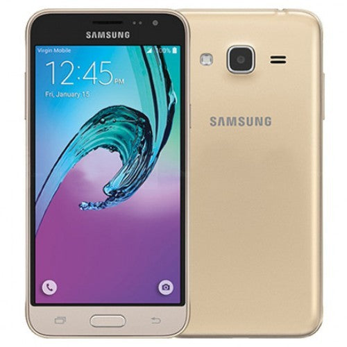 "Samsung Galaxy J3 (2016) 8GB - 4G - 5""- Gold Immaculate Condition - Free Next Day Shipping"