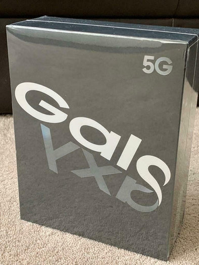 SAMSUNG GALAXY FOLD 5G BLACK SEALED BOX!!