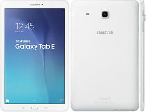 Samsung Galaxy Tab E WIFI  - WHITE 10.1 INCH - T560 VERY GOOD CONDITION